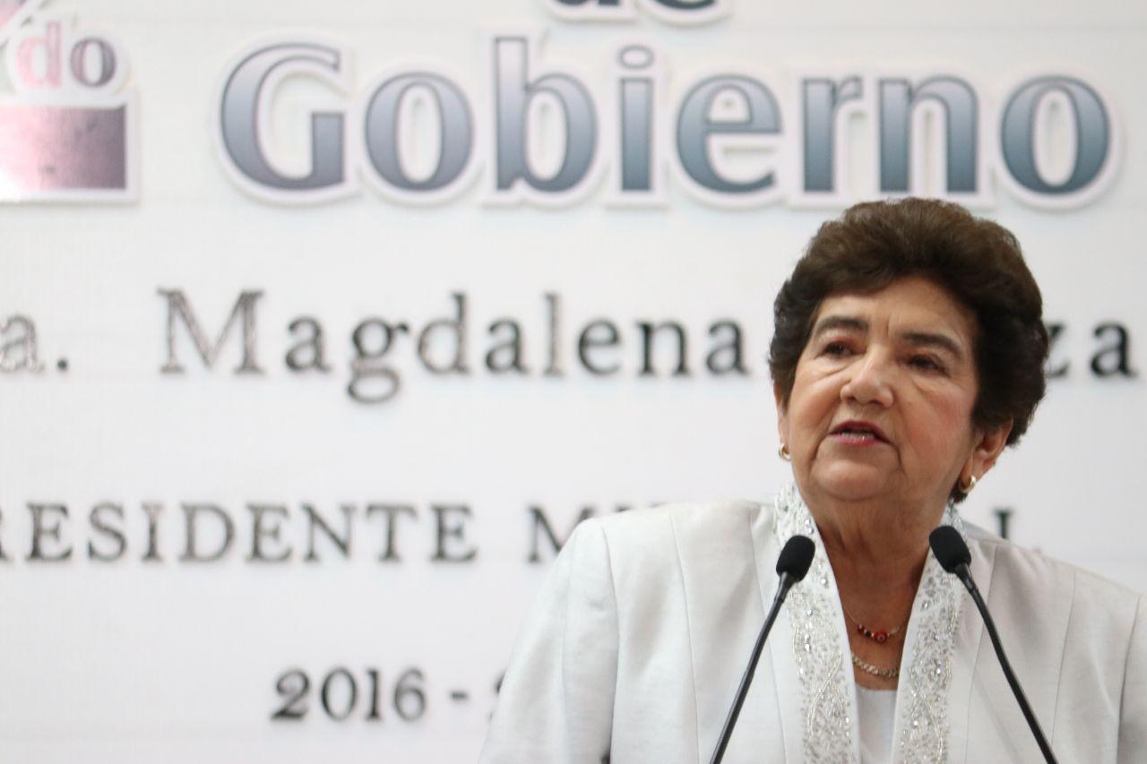 Mi gobierno ha cumplido: Magda Peraza