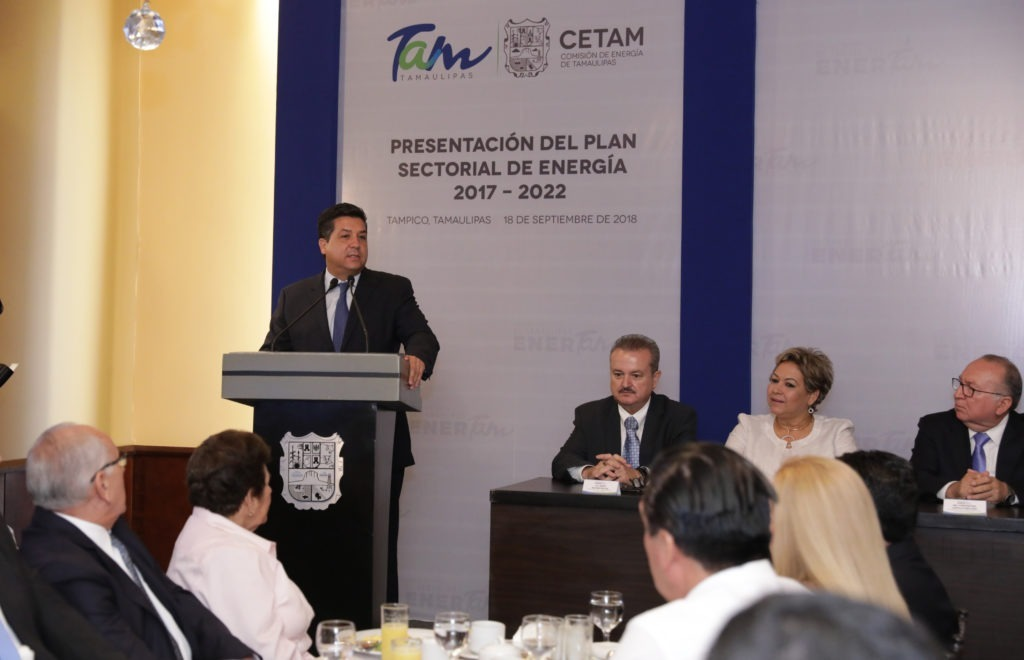 Preside Cabeza de Vaca integración de Clúster de Energía en Tamaulipas