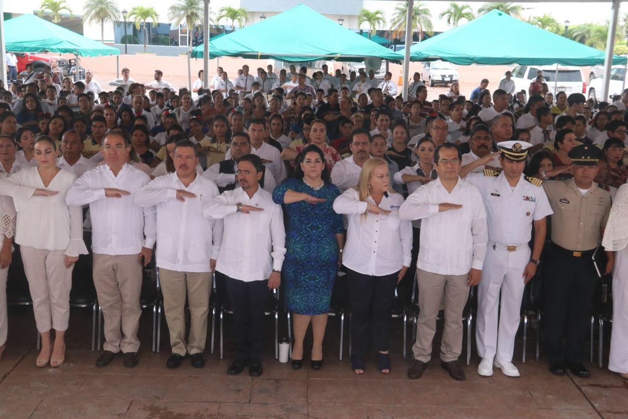 Conmemora Ayuntamiento porteño 189 aniversario de la Victoria de Tampico
