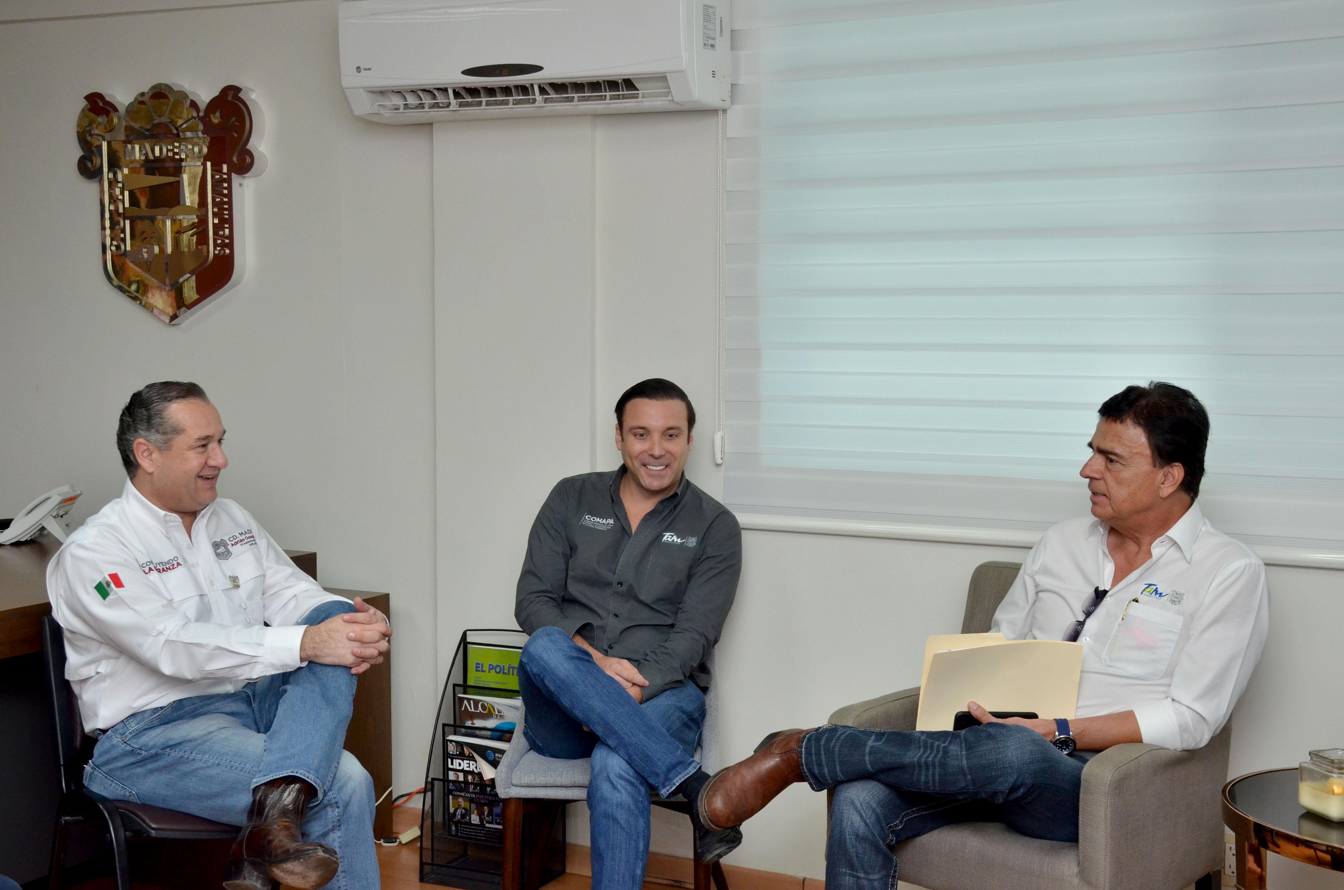 Autoridades concluirán red hidrosanitaria en Miramar