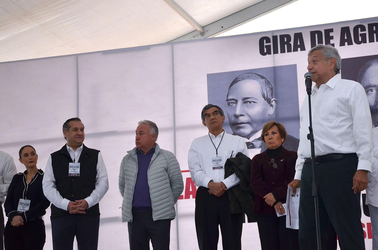 AMLO, gran aliado de MADERO: Oseguera