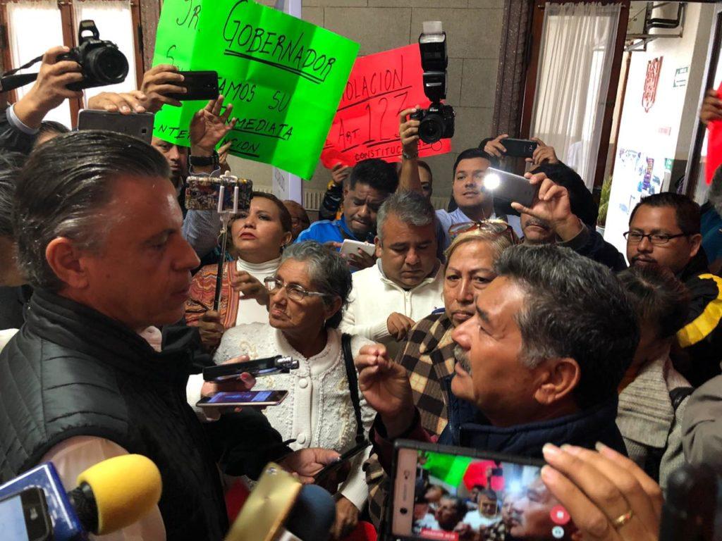 Ordena Chucho Nader atender a despedidos