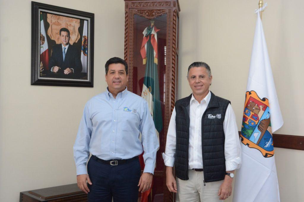 Acuerdan Cabeza de Vaca y Chucho Nader Impulsar Desarrollo de Tampico