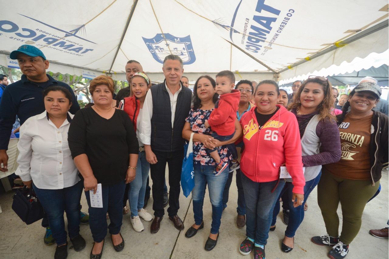 Encabeza Chucho Nader Martes Ciudadano en la Tamaulipas