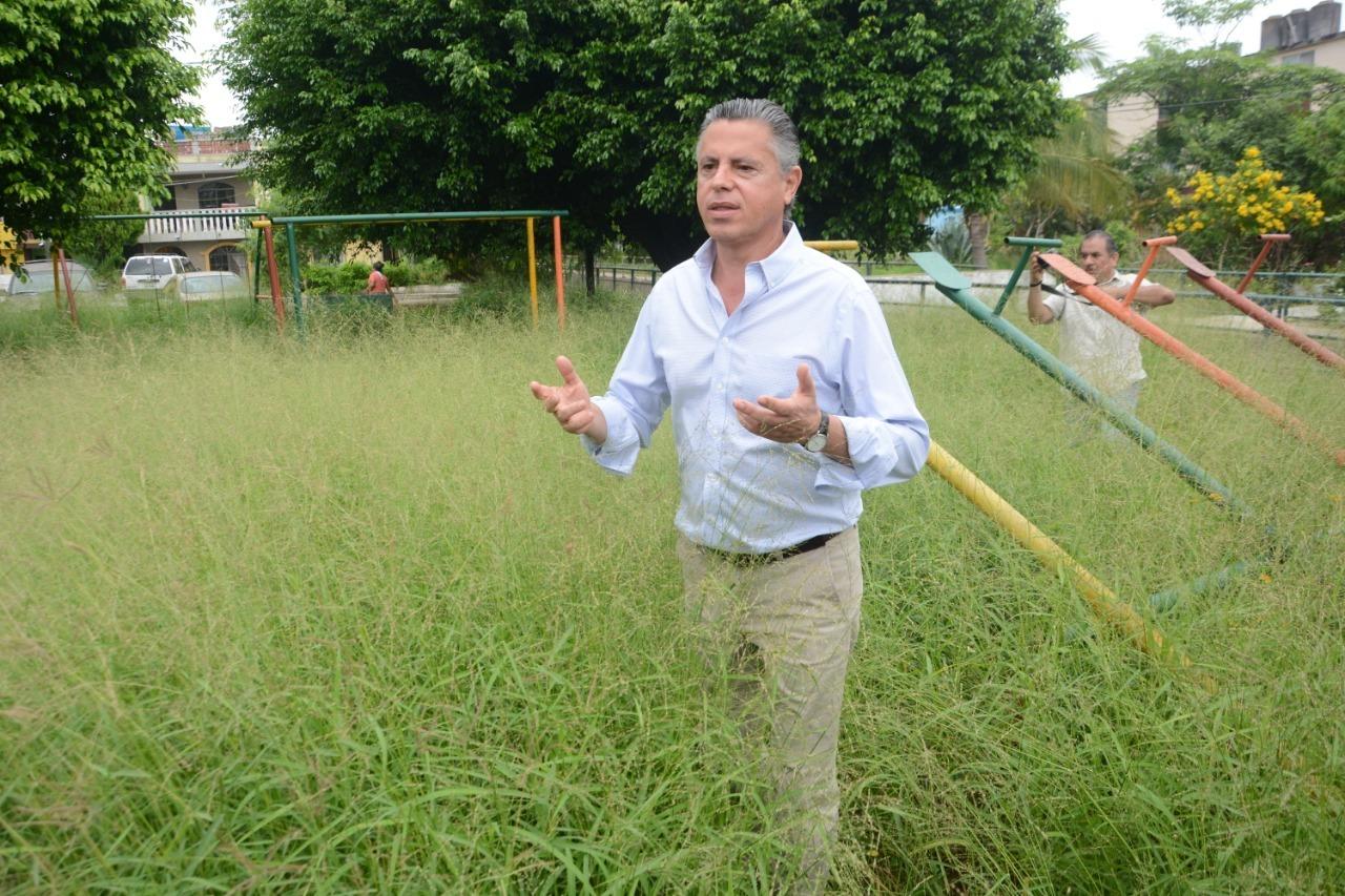 Vergonzosas las Áreas Públicas de Tampico: Chucho