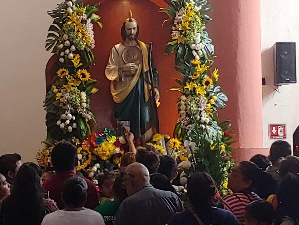 Rinden devoción a San Judas Tadeo