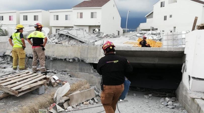 Suman 8 muertos por derrumbe en Cumbres