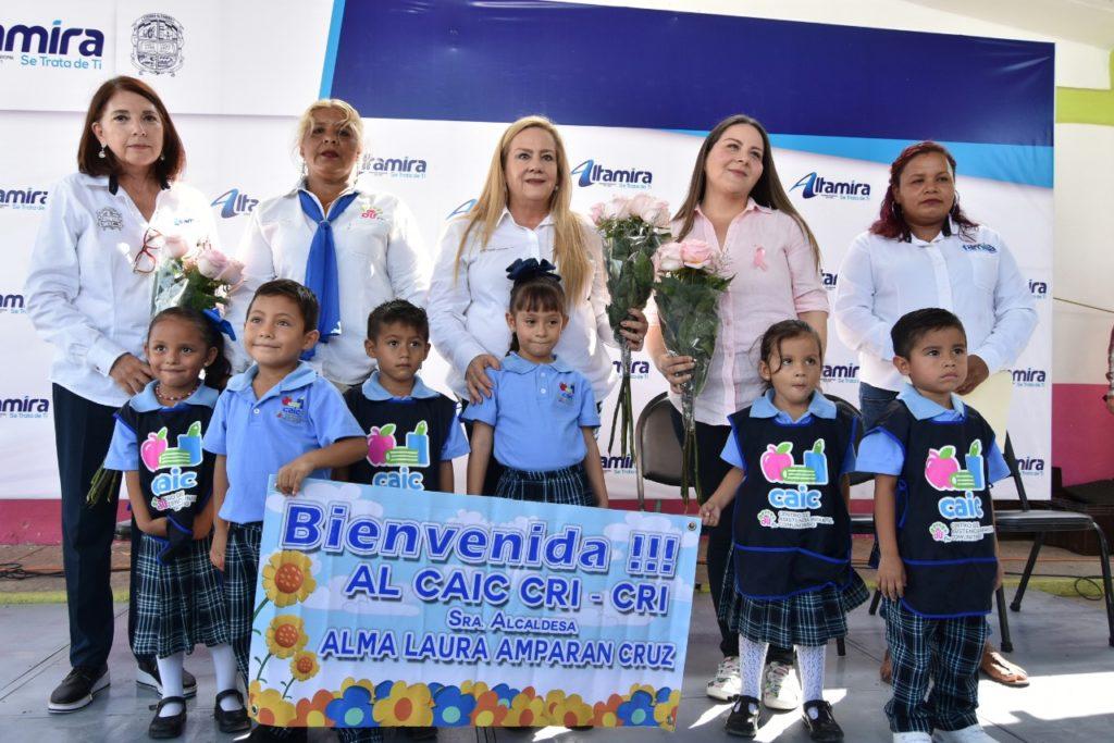 Mejora Gobierno de Alma Laura Amparán espacios educativos