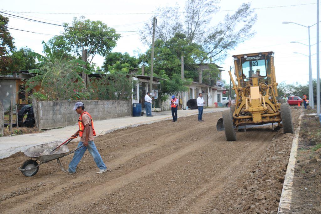 Planea Altamira más obras de pavimentación