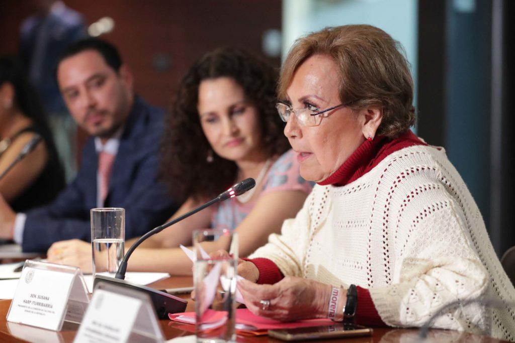 Senadora Lupita Covarrubias queda en Cultura