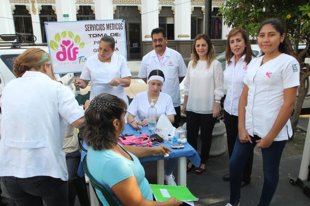 Inicia DIF Tampico campaña de salud