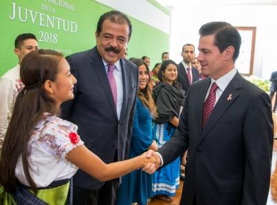 Gobierno ha dedicado esfuerzos para apoyar a jóvenes: Peña Nieto
