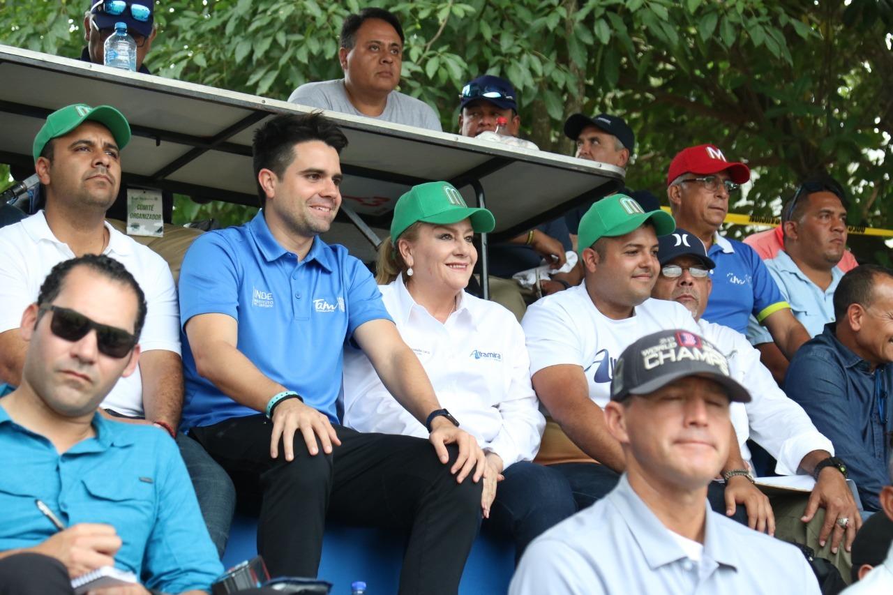 """""""Seguiremos trabajando a favor del deporte'': Alma Laura Amparán"""