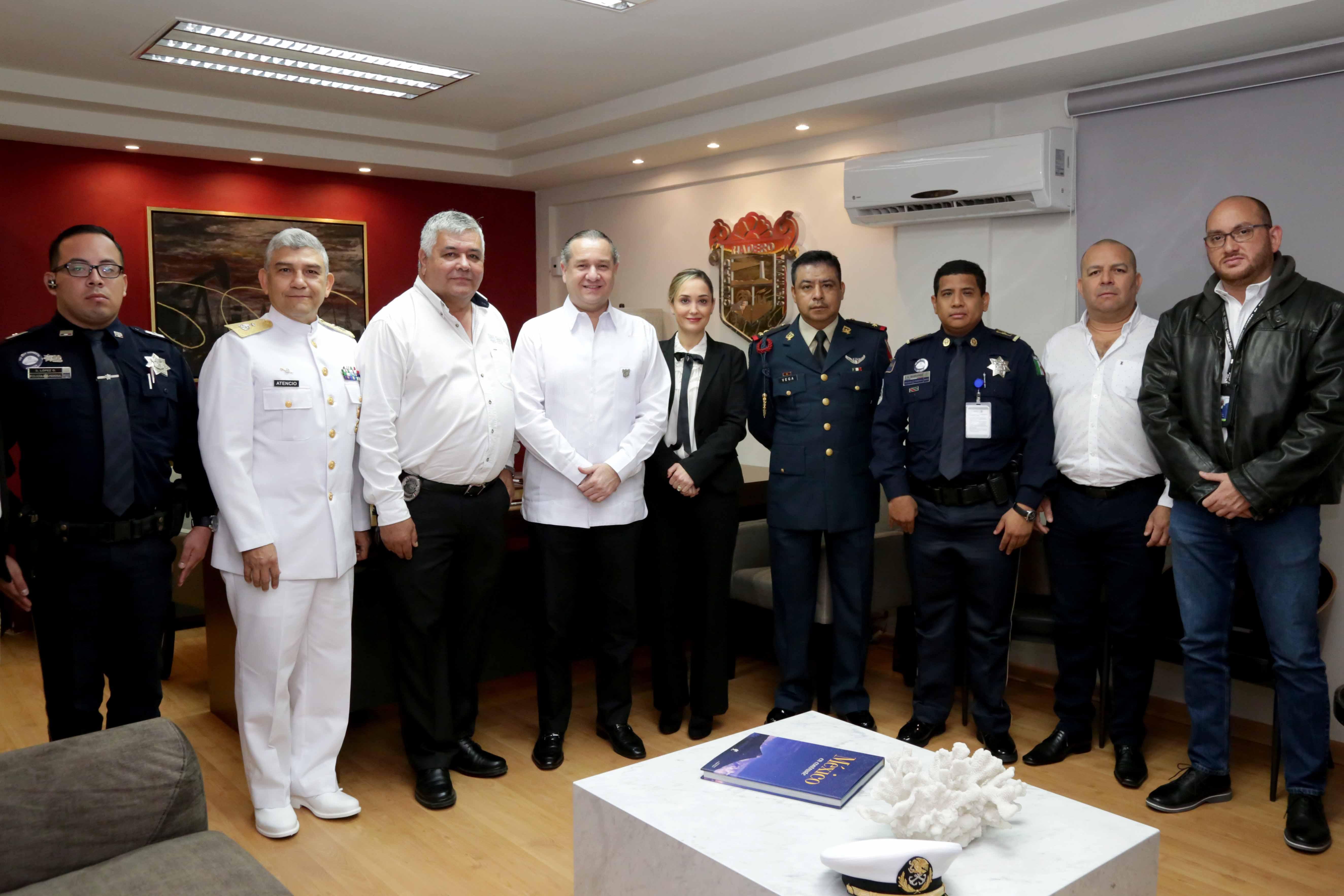 Coordinan en Madero plan de vigilancia con fuerzas estatales y federales