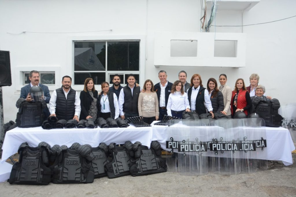Fortalece Chucho Nader la Seguridad en Tampico