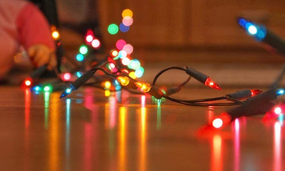 ¡Evita incendios! No compres luces navideñas chinas