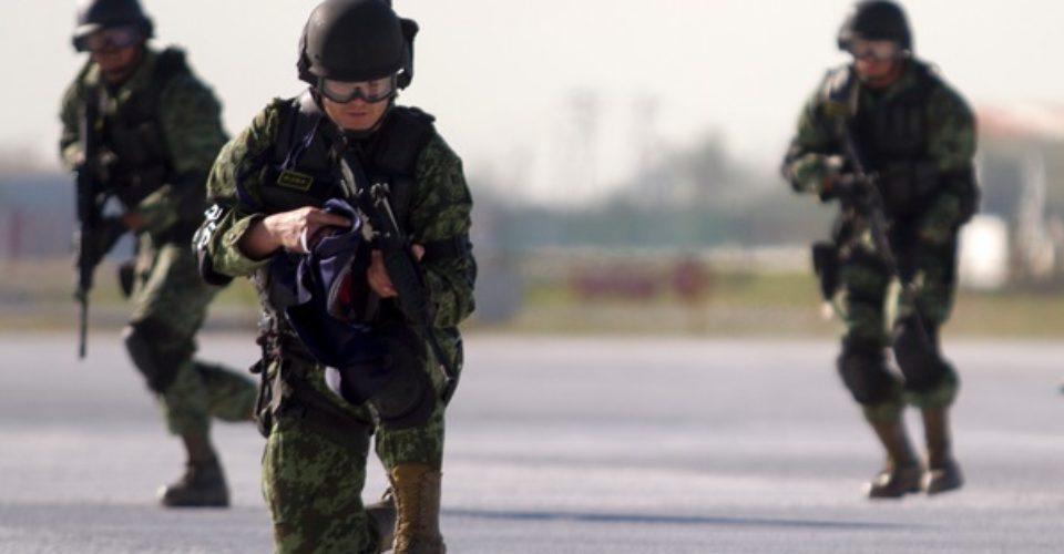 Piden retiro gradual de fuerzas militares