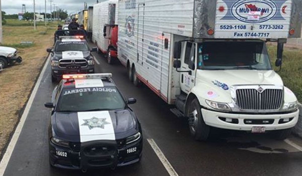 Mantienen seguridad  en carretera federal