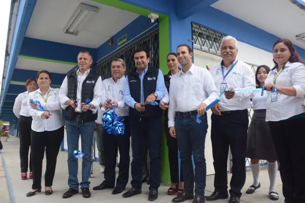 Inaugura Chucho Nader moderno control de asistencia en planteles COBAT