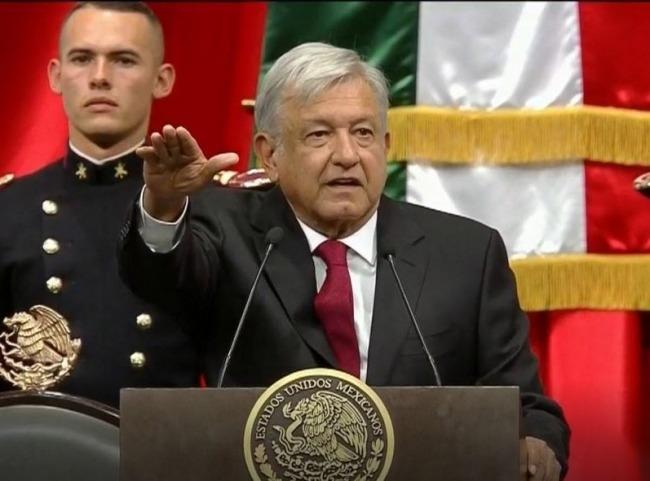 López Obrador protesta como presidente de México