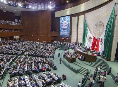Todo listo para colocar banda presidencial a López Obrador