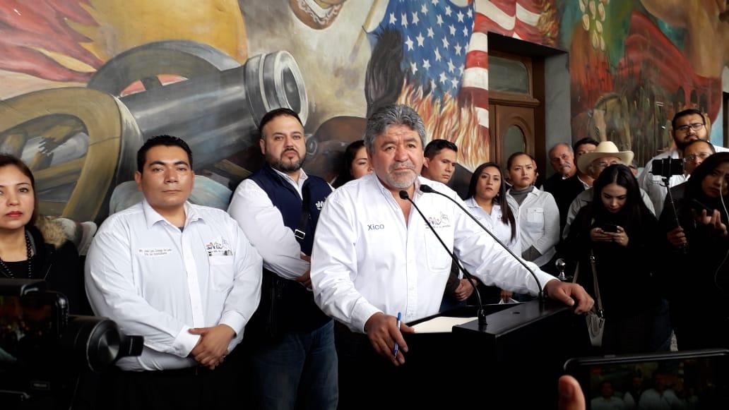 Xicotencatl Gamboa, podría ser removido de su cargo.