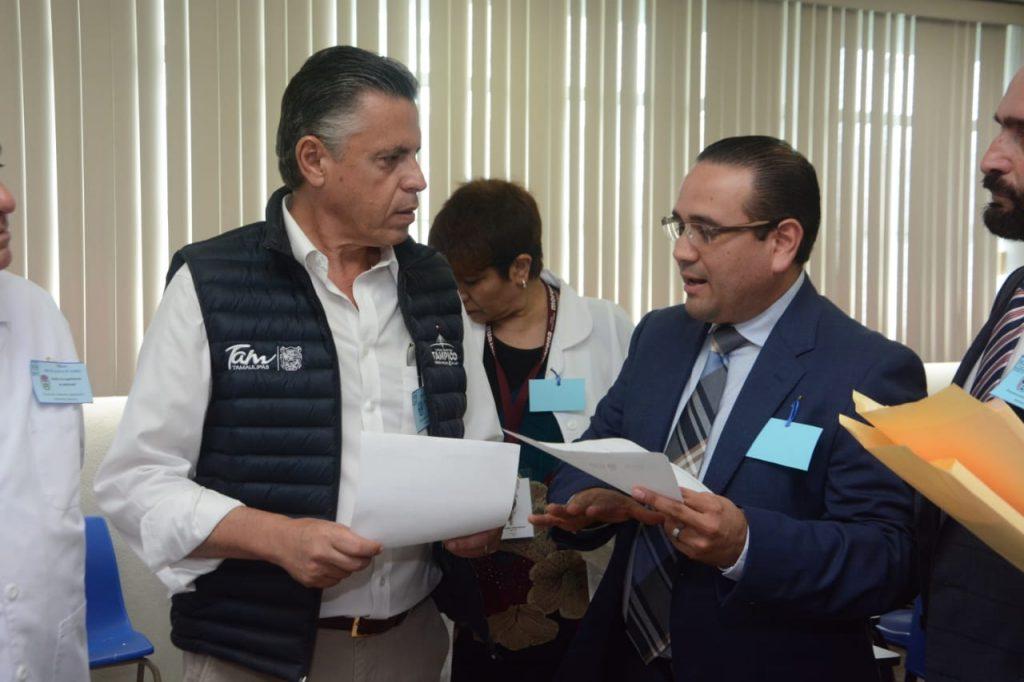Garantiza Chucho Nader terreno para construir Hospital del ISSSTE