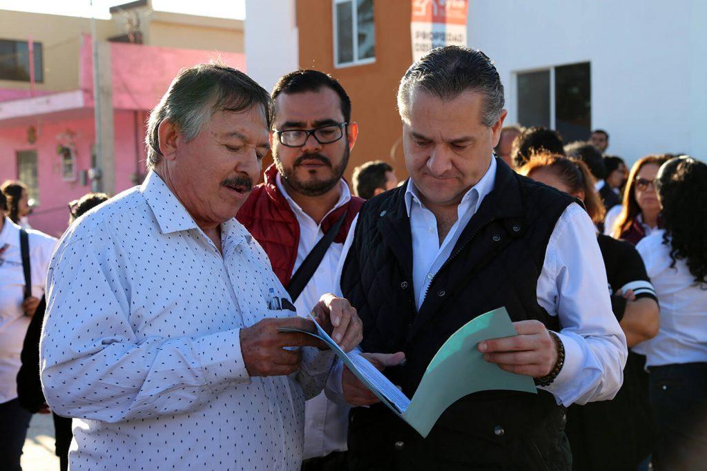 Adrián Oseguera cumple con los ciudadanos maderenses