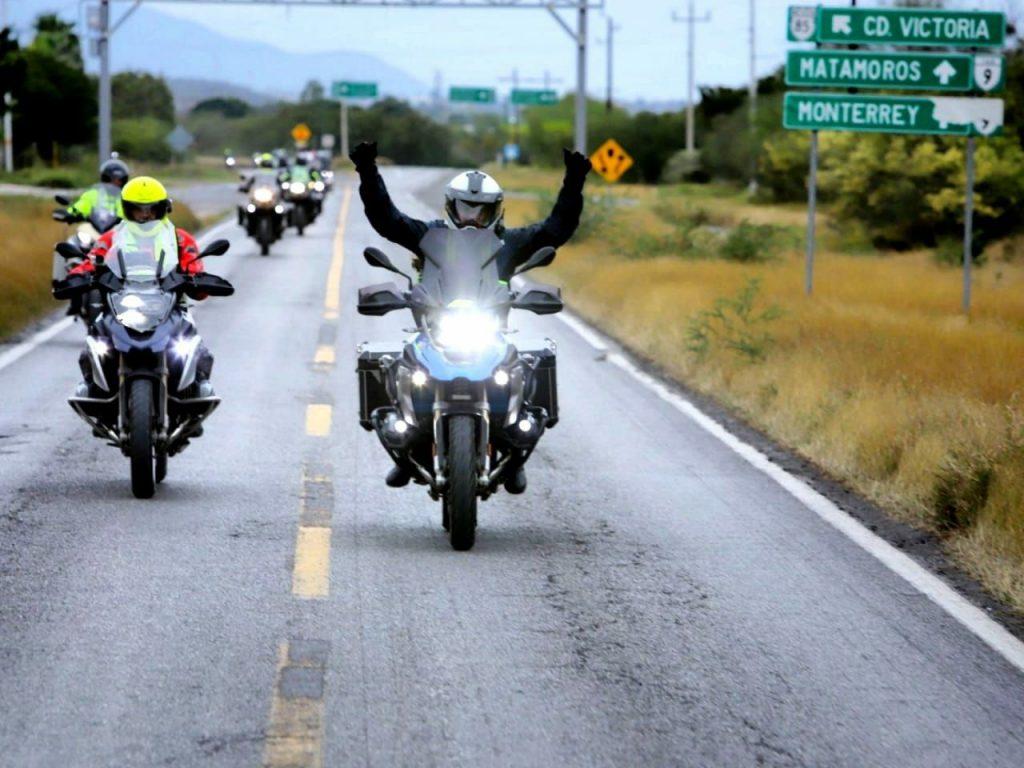Organizan rodada en carreteras de Tamaulipas