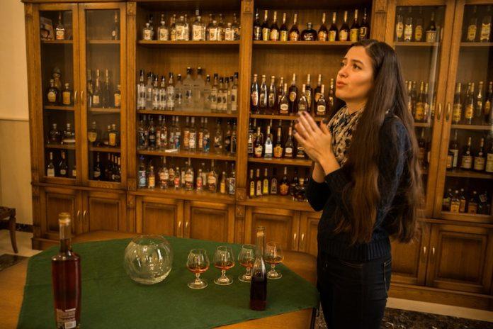 KVINT, la única destilería del mundo que cuenta con un brandy espacial