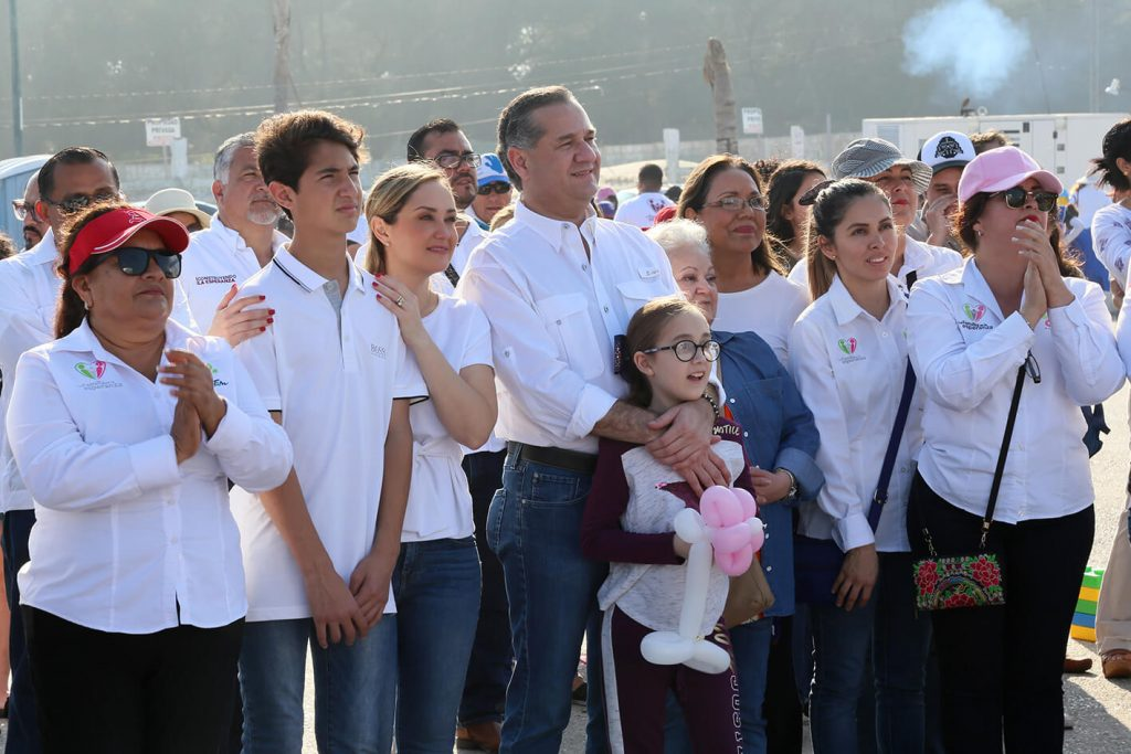 Fortalece Oseguera la integración familiar en Ciudad Madero