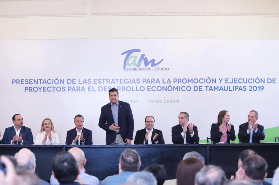 Fortalece Cabeza de Vaca desarrollo económico de Tamaulipas