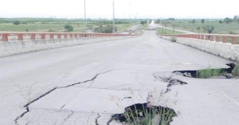 """""""Puente roto"""" de Altamira, monumento a la corrupción: CIEST"""