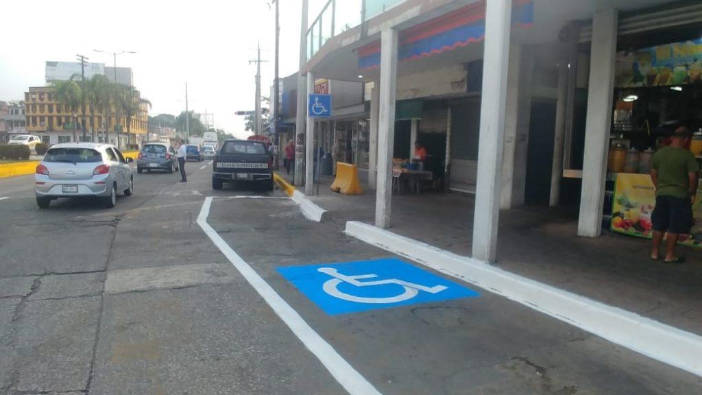 Impulsa Madero Ordenamiento vial frente al Mercado 18 de Marzo