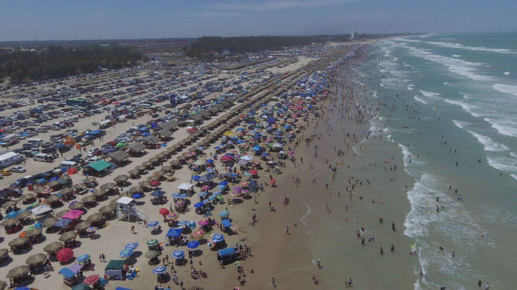 Playa Miramar tiene 1 millón de visitantes en Sábado de Gloria