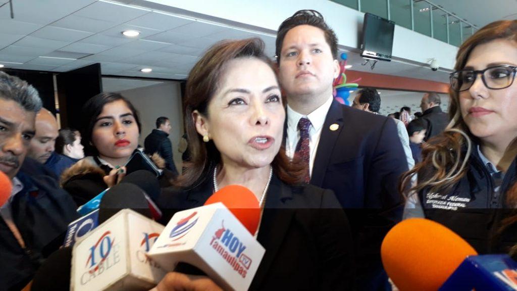 Cuestiona Josefina Vázquez a servidores de Nación en Tamaulipas
