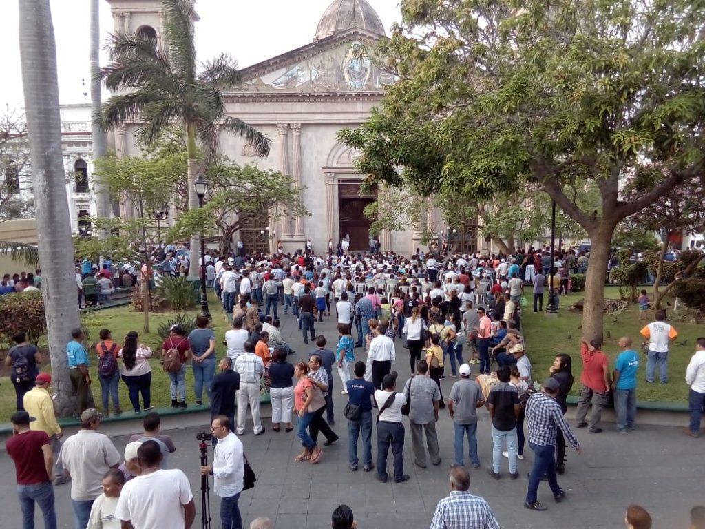 Despiden en Catedral a Aída Nader Feres
