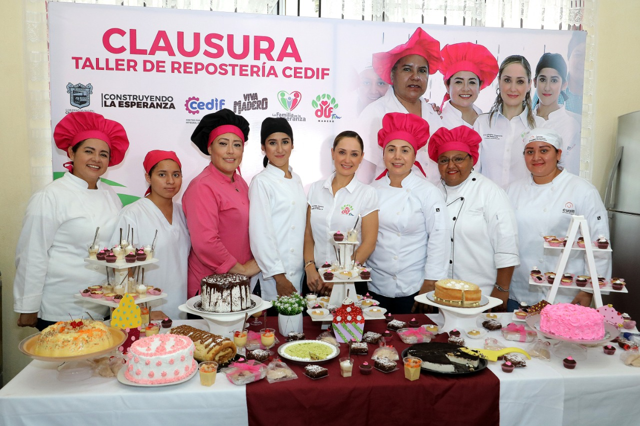 Impulsa DIF Madero talleres de autoempleo