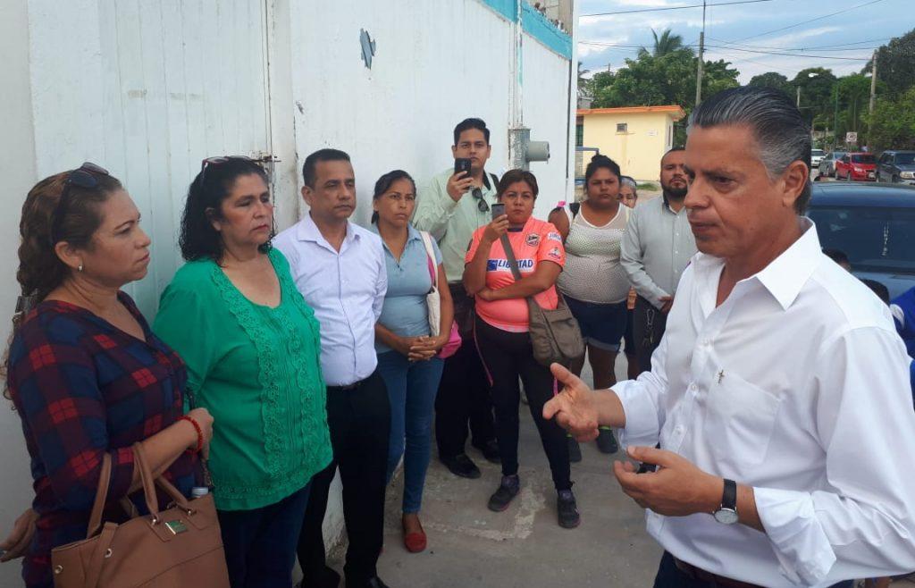 Reabren escuela Lucino Gaytán en Tampico