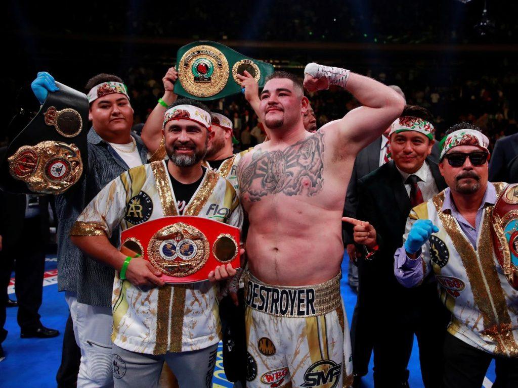 Andy Ruiz, primer mexicano Campeón Mundial Pesado en Box