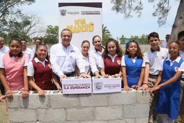 Arranca Madero obra escolar que beneficia a más de 500 jóvenes