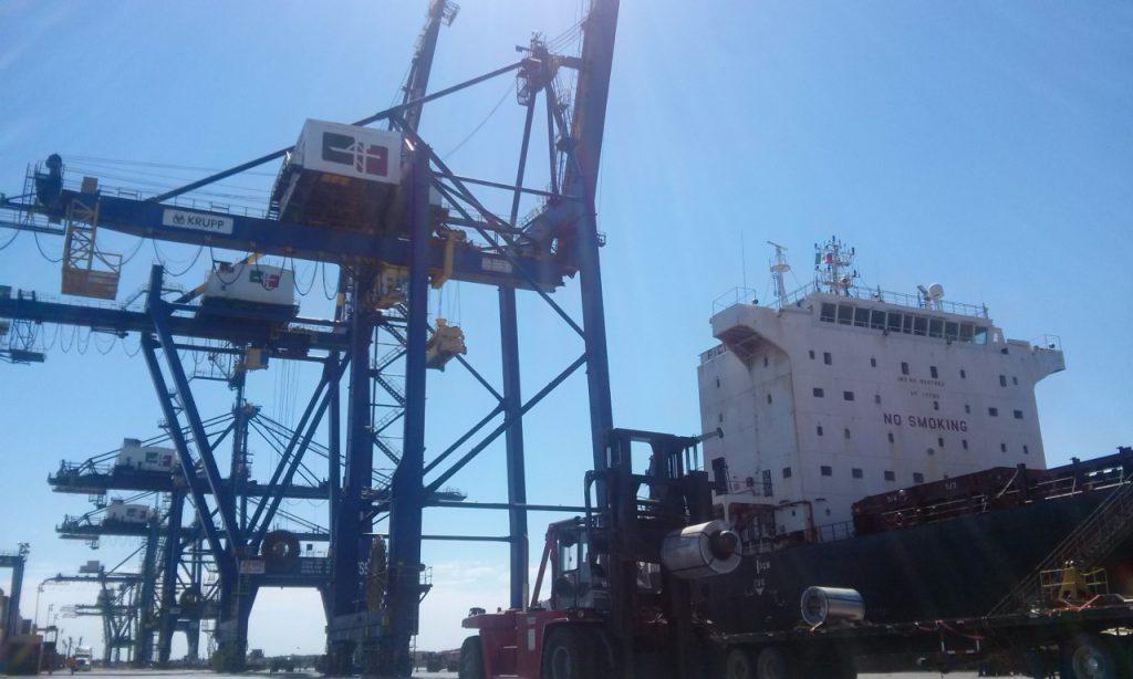 Invierten mil mdp  en ampliación de  terminales portuarias
