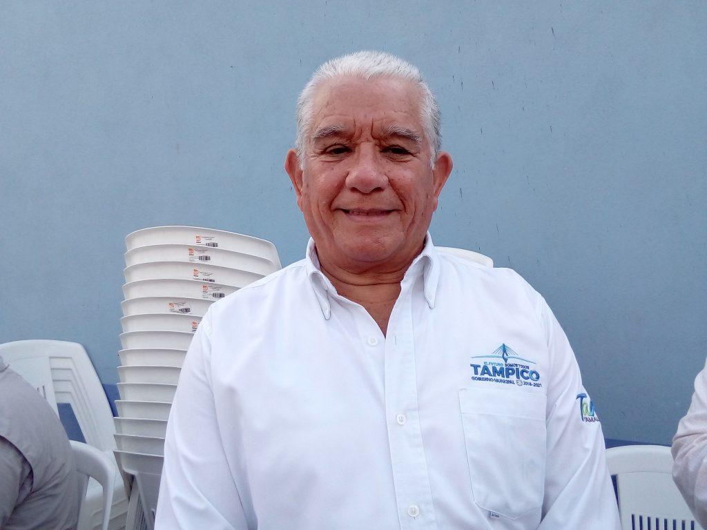 Pedro Pablo Cerrillo, Secretario de Obras Púbicas en Tampico.