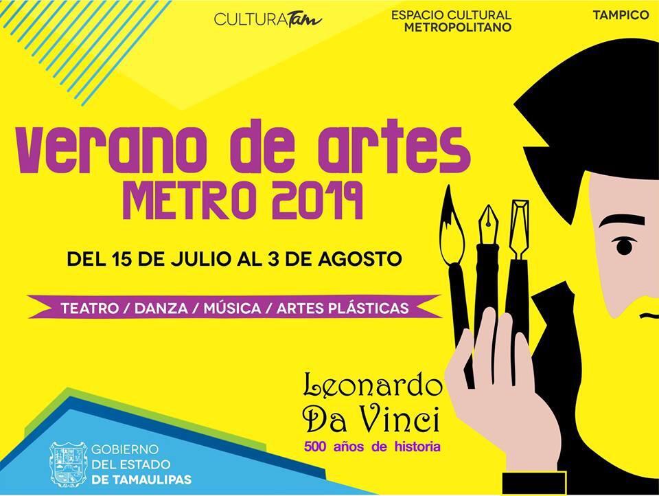 """Abren inscripciones para el """"Verano de Artes Metro 2019"""""""
