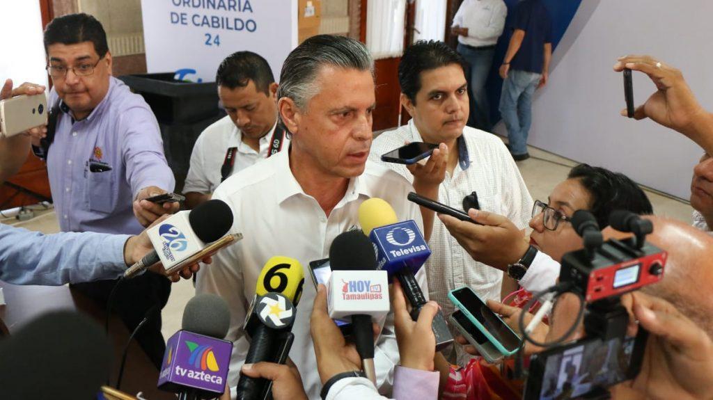 """""""Apretarán"""" cinturón alcalde y secretarios; harán más obra en Tampico"""