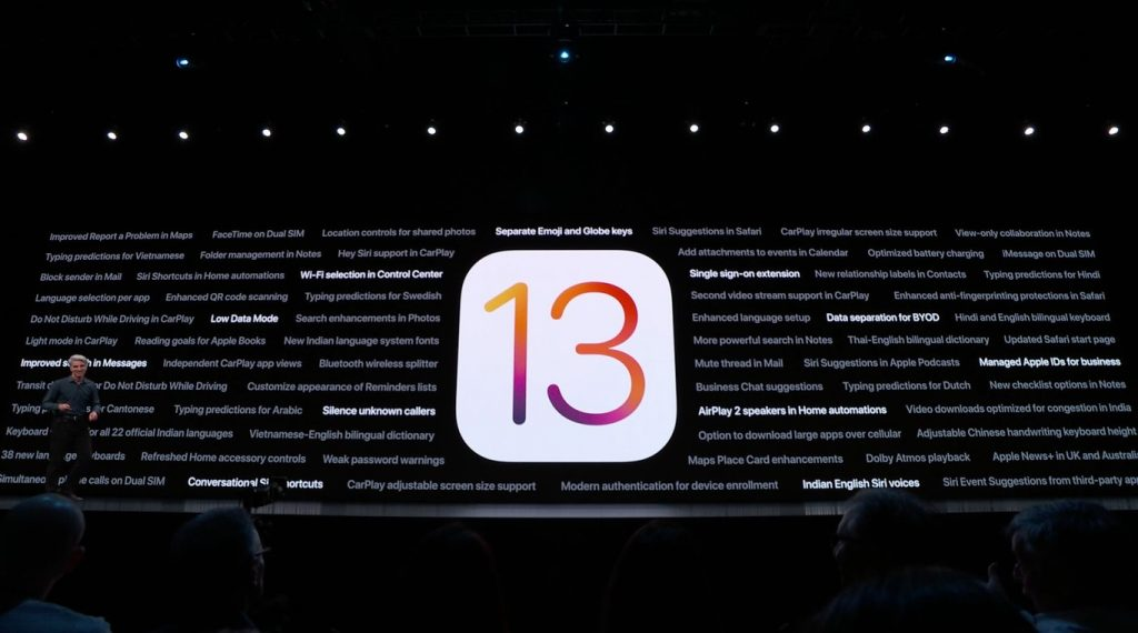 iOS 13 se pasa al lado oscuro con el 'modo noche'