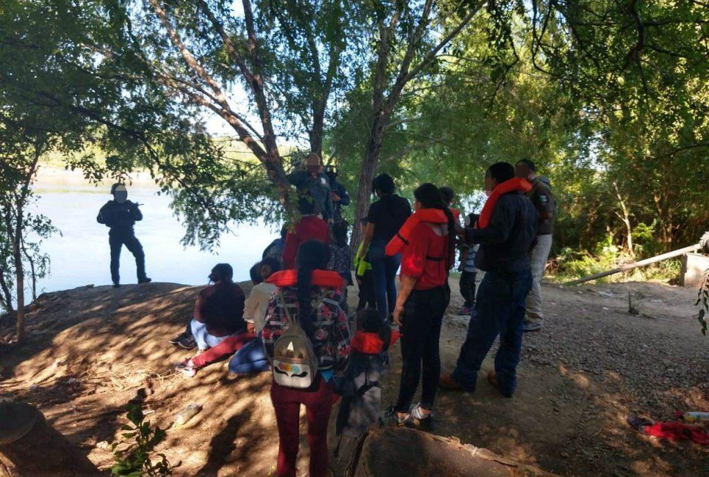 Rescatan a 26 indocumentados centroamericanos en Tamaulipas