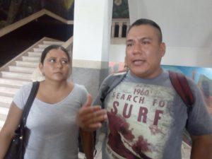 Alberto Zacarías Acosta y Mariana Hatem Zacarías, denuncian otra presunta negligencia del IMSS, hospital regional No. 6.
