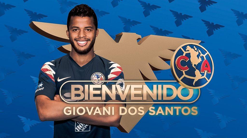 Giovani Dos Santos es nuevo jugador del Club América