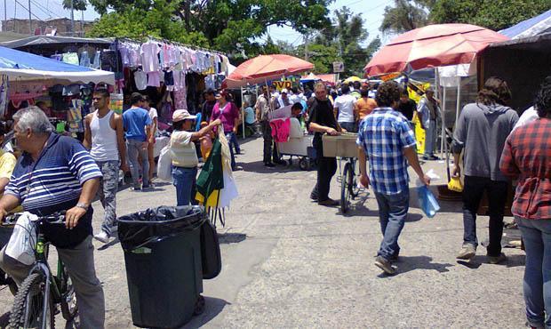 tianguis y mercados